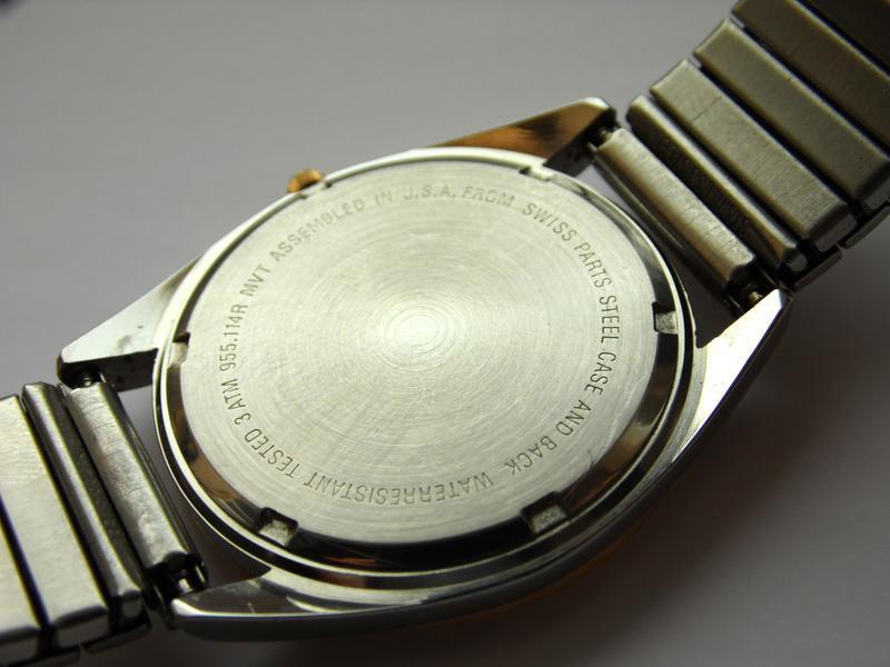 Belair мужские винтажные часы из сша сталь дата мех. eta swis ... - Фото 10