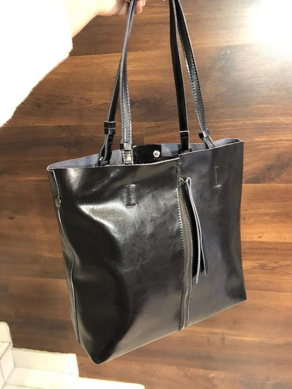 Женская кажаная сумка , натуральная кожа распродажа