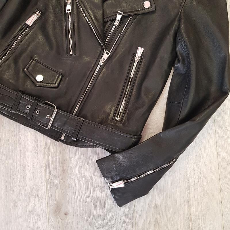 Кожаная куртка - Фото 2