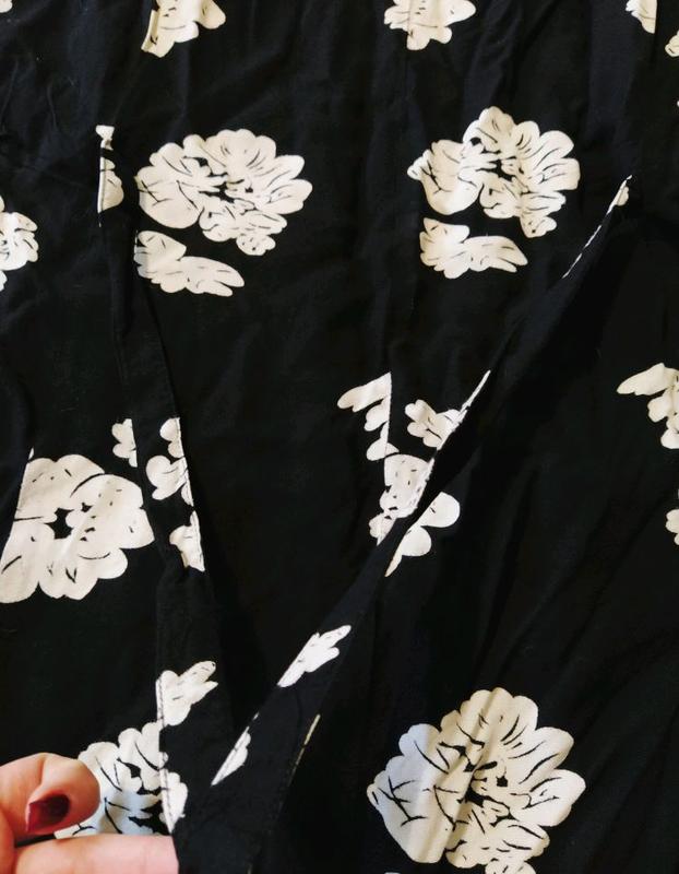 Натуральное летнее платье сарафан большого размера батал - Фото 6