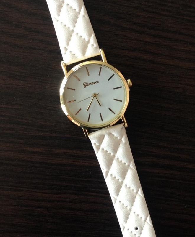 Стильные наручные часы с циферблатом без цифр годинники - Фото 2