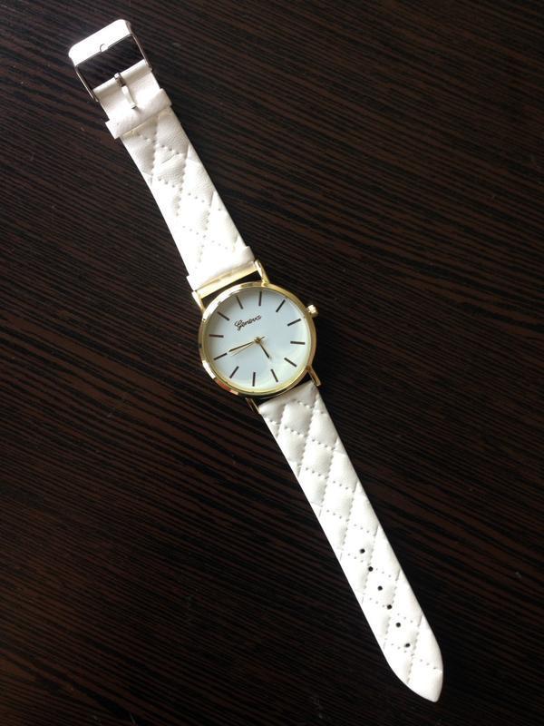 Стильные наручные часы с циферблатом без цифр годинники - Фото 3