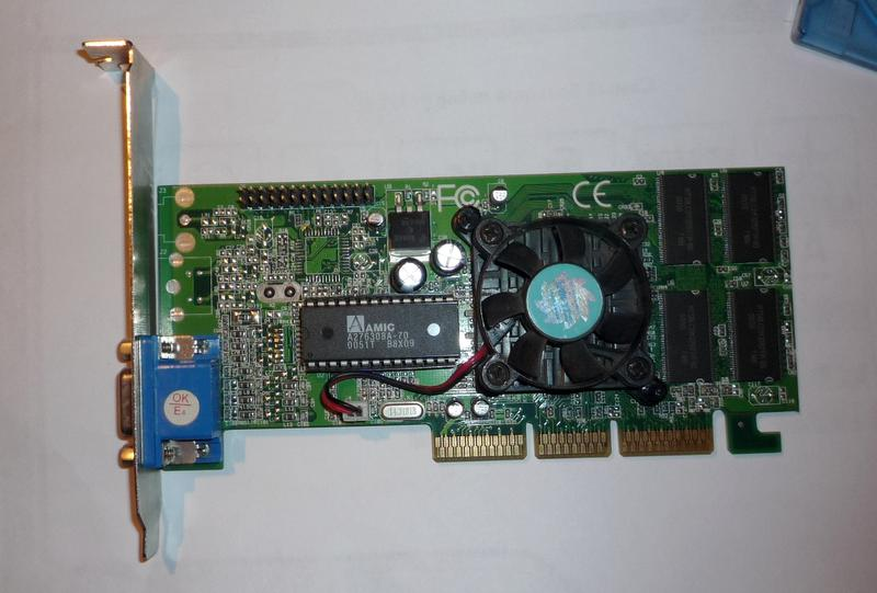 Видеокарта 32 мб. AGP.
