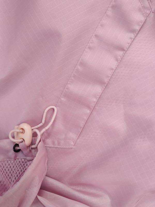 Нежно-розовая куртка ветровка* - Фото 5