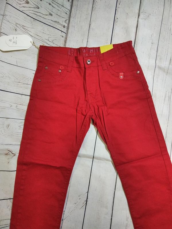 Яркие,стильные брюки на 134-140. для мальчика. - Фото 2