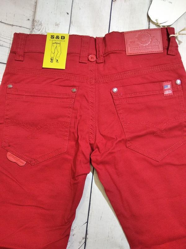 Яркие,стильные брюки на 134-140. для мальчика. - Фото 3