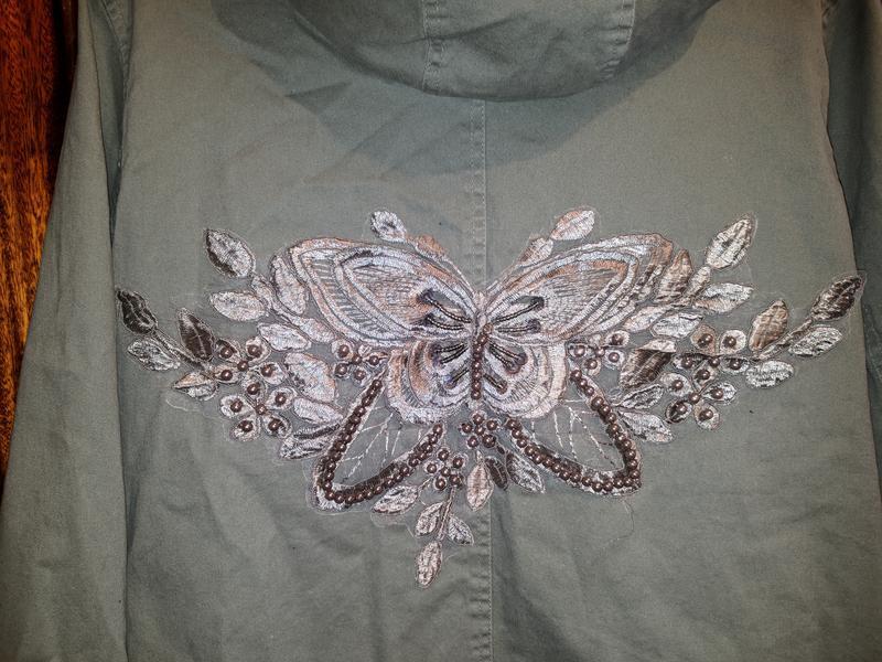 !продам женскую демисезонную куртку парку ветровку с капюшоном - Фото 4