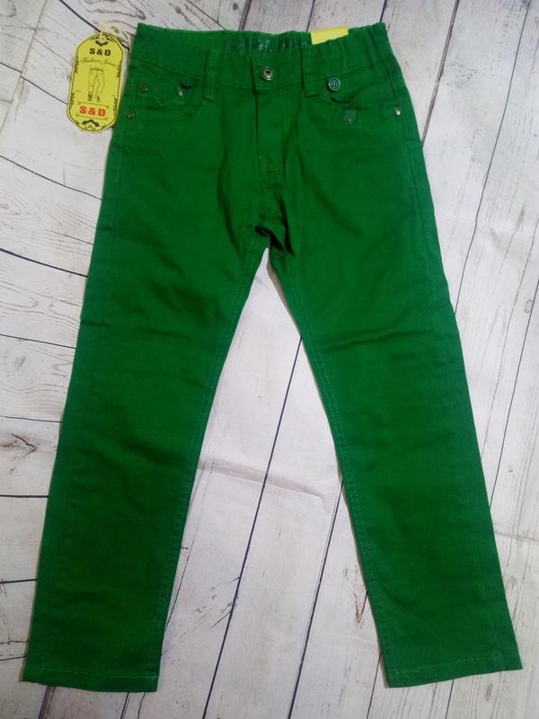 Яркие,стильные брюки на 140. для мальчика. - Фото 2
