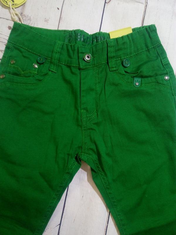 Яркие,стильные брюки на 140. для мальчика. - Фото 4