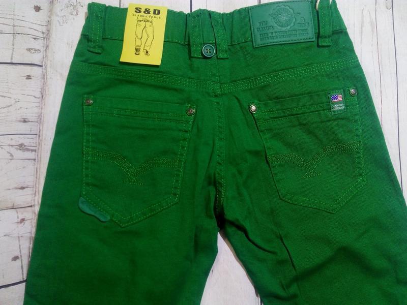 Яркие,стильные брюки на 140. для мальчика. - Фото 5
