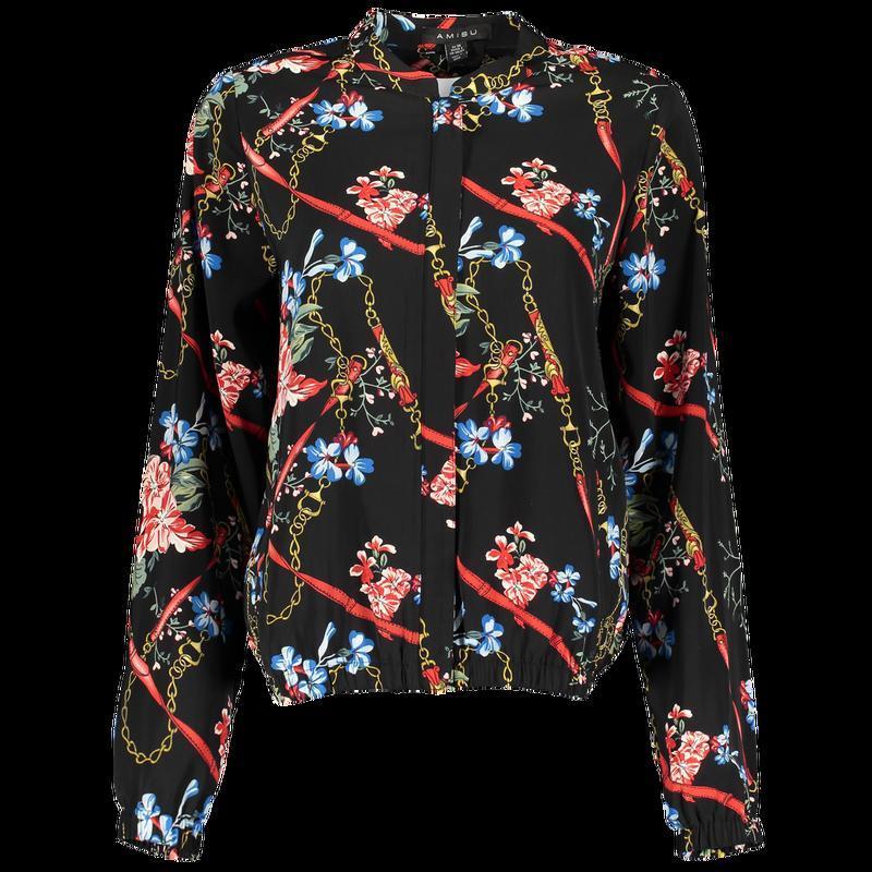 Новая женская тонкая куртка пиджак ветровка бомбер new yorker - Фото 5