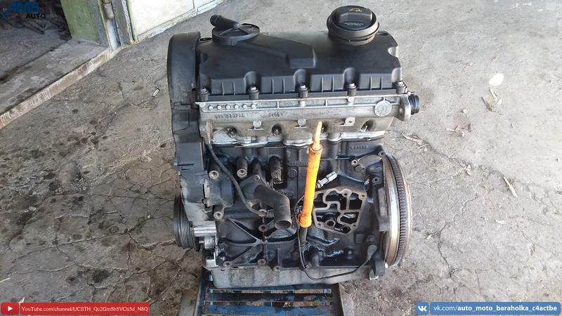 Двигатель AUY 1.9TDI, 80HBH, V400, Volkswagen, Skoda, Seat, Audi,