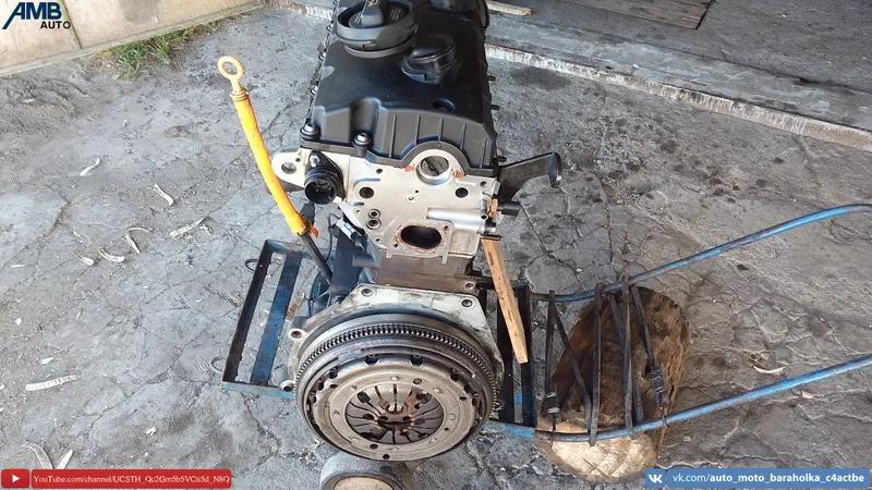 Двигатель AUY 1.9TDI, 80HBH, V400, Volkswagen, Skoda, Seat, Audi, - Фото 17