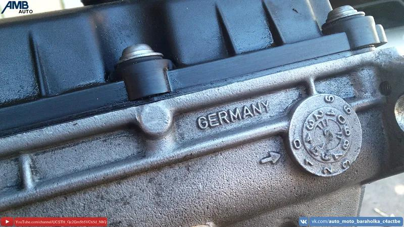 Двигатель AUY 1.9TDI, 80HBH, V400, Volkswagen, Skoda, Seat, Audi, - Фото 3