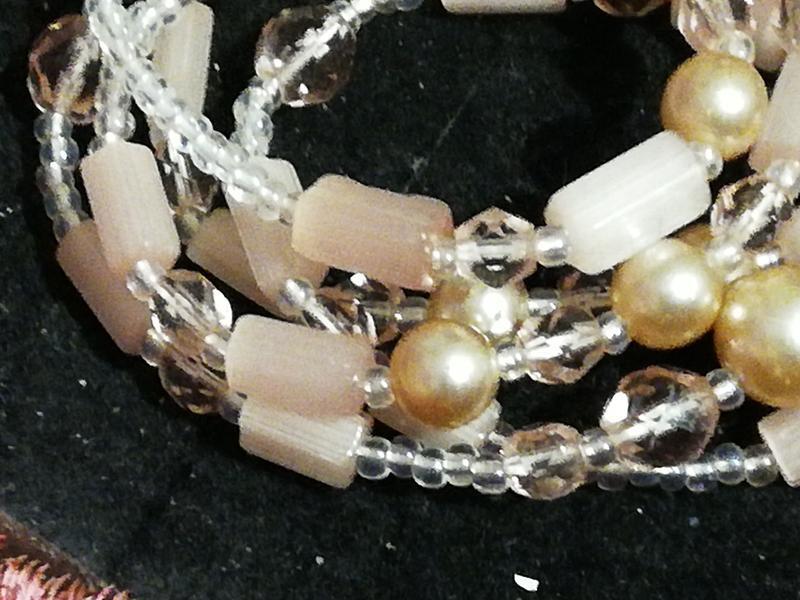 Не пластик, нежное винтажное ожерелье - Фото 5