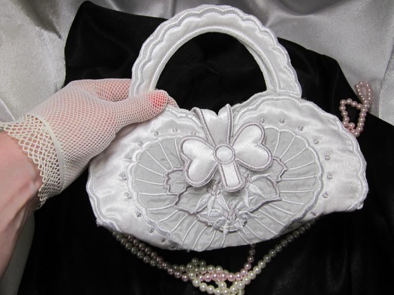 Свадебная сумочка «сердце» - Фото 2