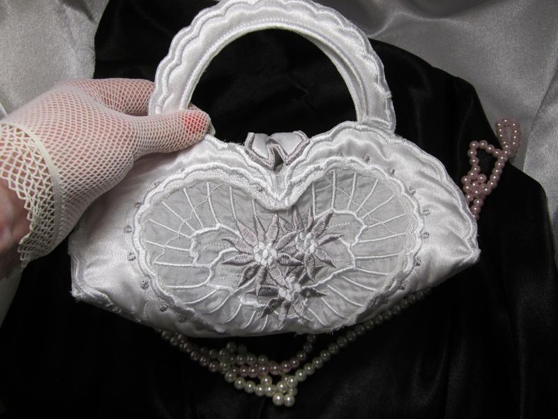 Свадебная сумочка «сердце» - Фото 3