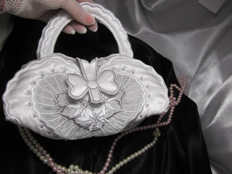 Свадебная сумочка «сердце» - Фото 4