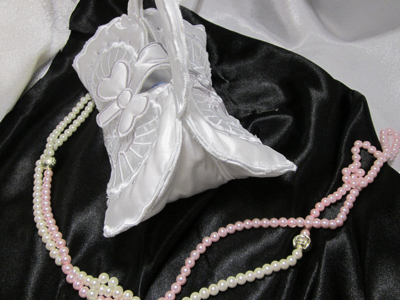 Свадебная сумочка «сердце» - Фото 5