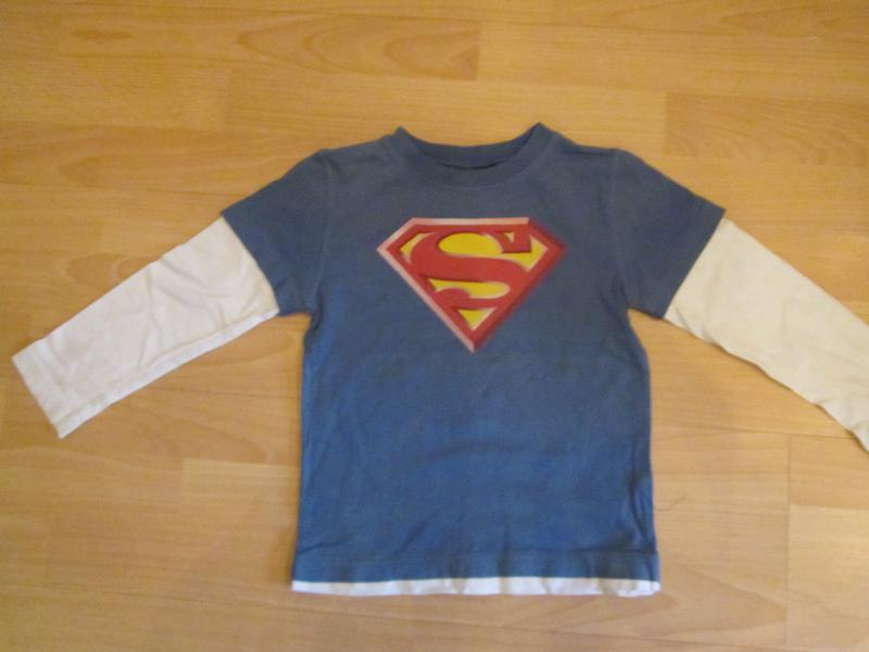 Реглан супермен, тонкий рост 110-116см