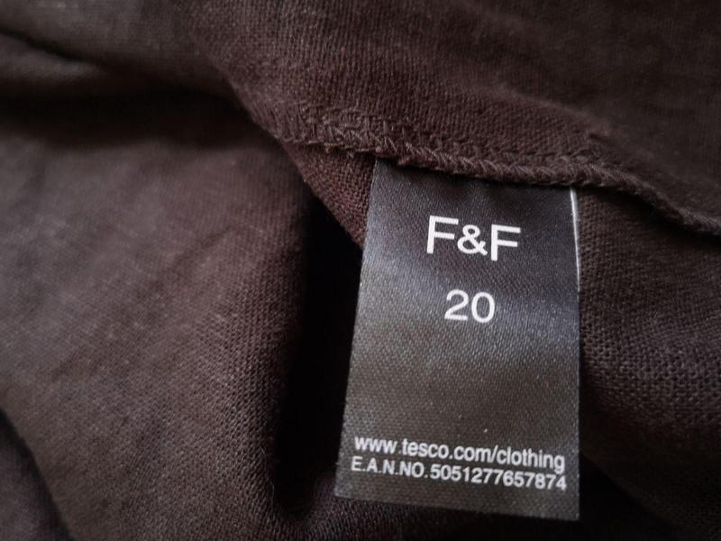 Льняное платье рубашка миди  большого размера - Фото 4