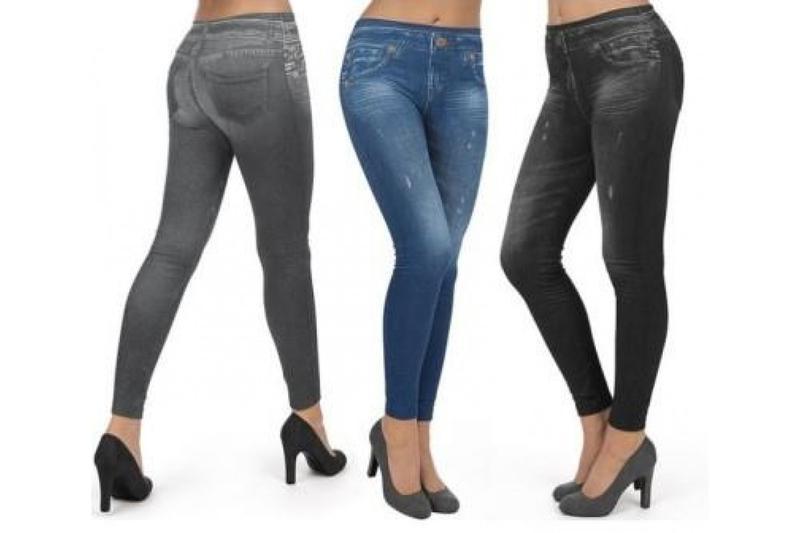 Корректирующие джинсы Slim 'N Lift  разные цвета и размеры, 38-50 - Фото 2