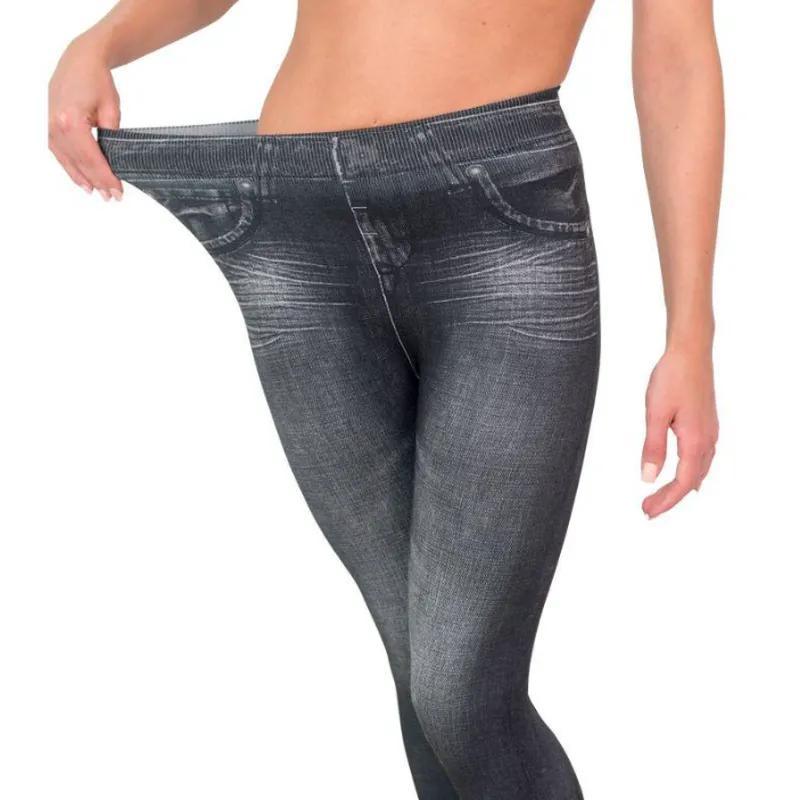 Корректирующие джинсы Slim 'N Lift  разные цвета и размеры, 38-50 - Фото 6