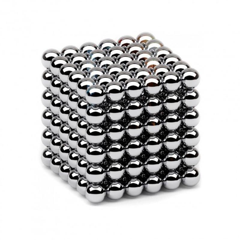 Головоломка Неокуб Neocube 216 шариков 5мм в металлическом боксе - Фото 3