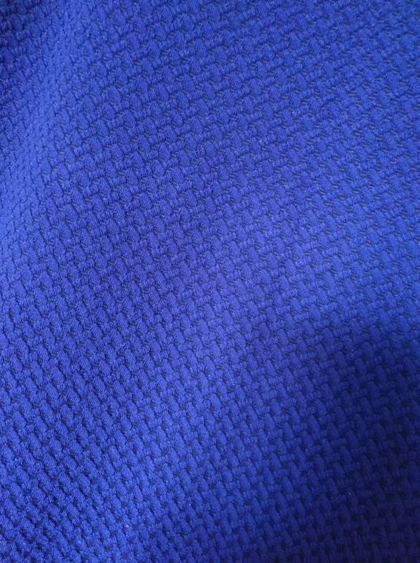 Трикотажное платье синее принт 14-16 размер 46-48 размер - Фото 4