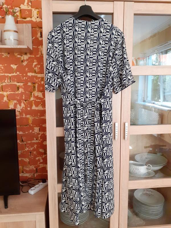 Супер  платье рубашка большого размера - Фото 2