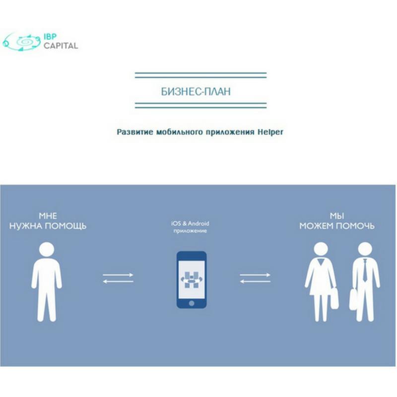 """Бизнес-план """"ИТ, развитие мобильного приложения"""""""
