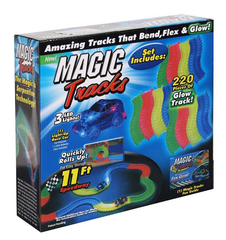 Автотрек Magic Tracks, 220 деталей - Фото 3