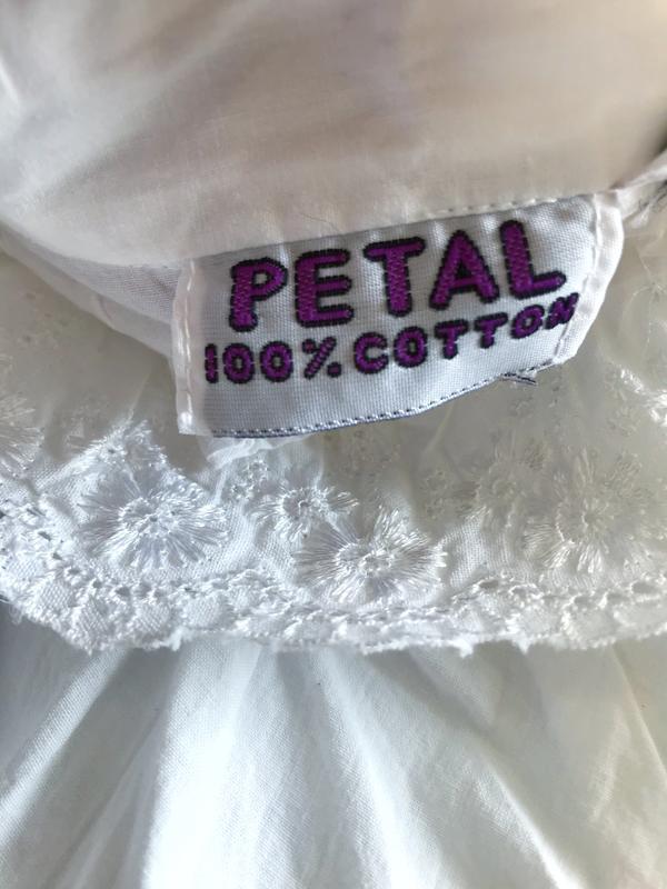 Винтажное хлопковое платье рубашка большой размер - Фото 9