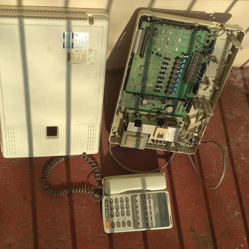 Мини АТС Panasonic VB-9250XQ + системный телефон - Фото 5
