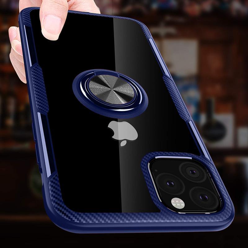 """Чехол  под магнитный держатель для Apple iPhone 11 Pro Max (6.5"""") - Фото 2"""