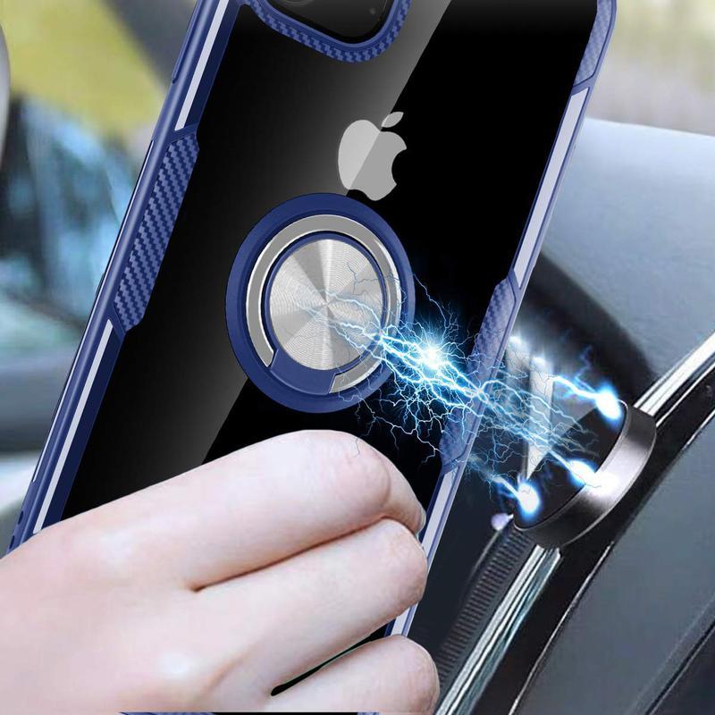 """Чехол  под магнитный держатель для Apple iPhone 11 Pro Max (6.5"""") - Фото 4"""