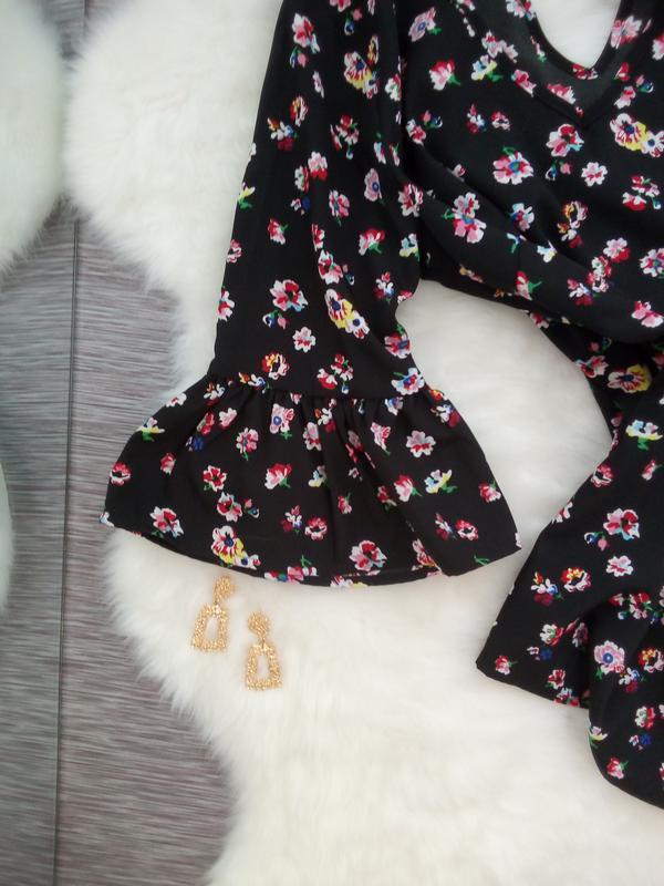 Стильная блузка в модный цветочный принт от papaya - Фото 4