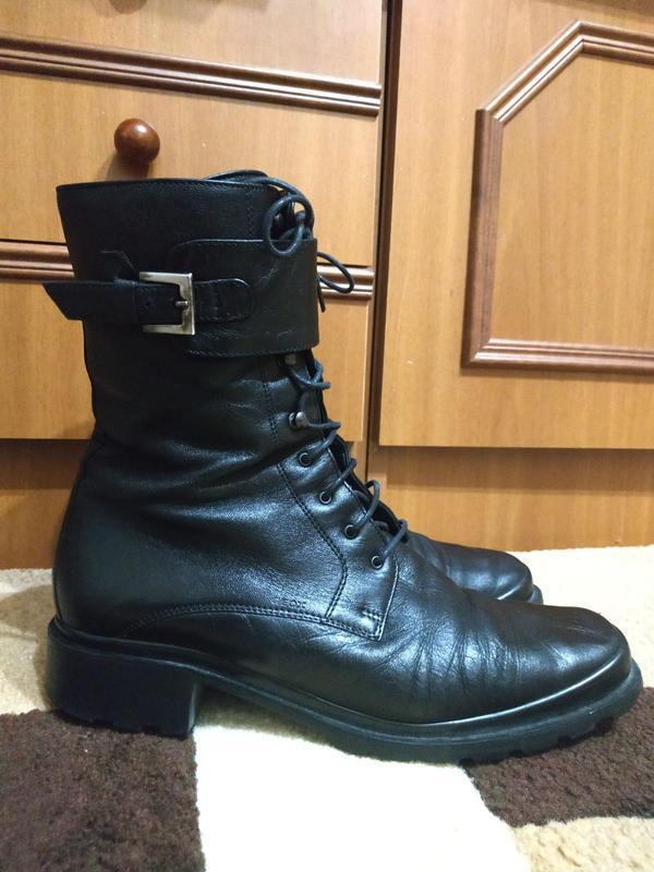 Ботинки кожаные деми р.39