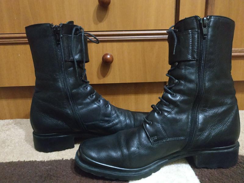 Ботинки кожаные деми р.39 - Фото 3