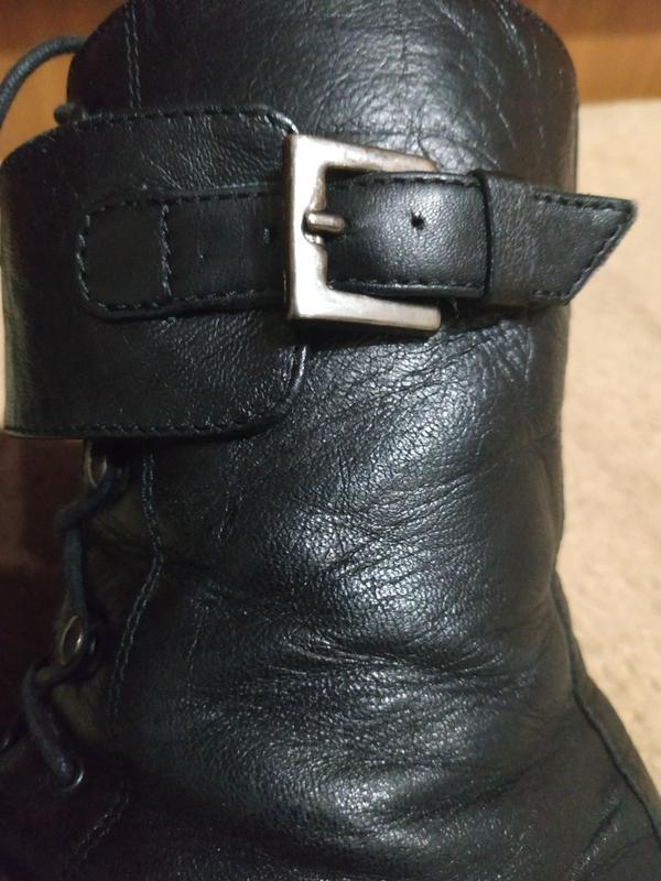 Ботинки кожаные деми р.39 - Фото 5