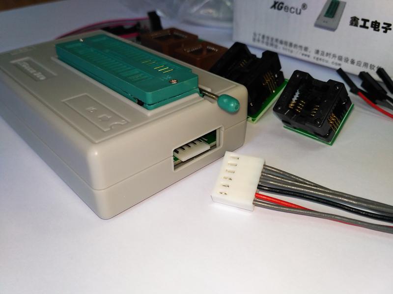 USB Программатор XGecu (MiniPro) TL866II Plus +адаптеры - Фото 5