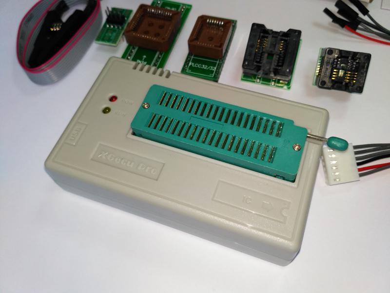 USB Программатор XGecu (MiniPro) TL866II Plus +адаптеры - Фото 4