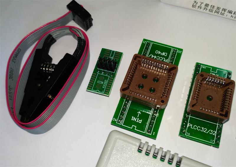 USB Программатор XGecu (MiniPro) TL866II Plus +адаптеры - Фото 6
