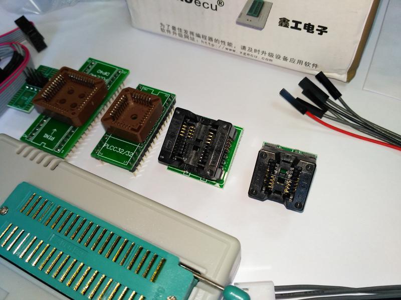 USB Программатор XGecu (MiniPro) TL866II Plus +адаптеры - Фото 8