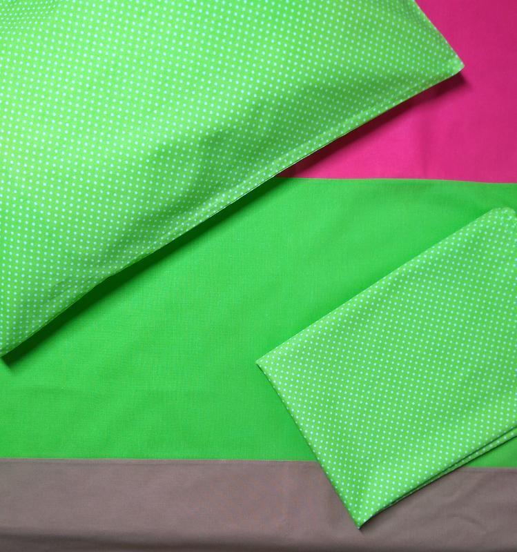 Комплект постельного белья в кроватку(100 % хлопок) - Фото 3