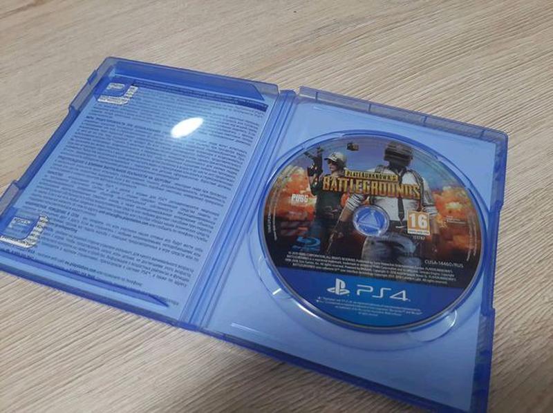 Продам игру диск Playerunknown's Battlegrounds PUBG ps4 - Фото 2