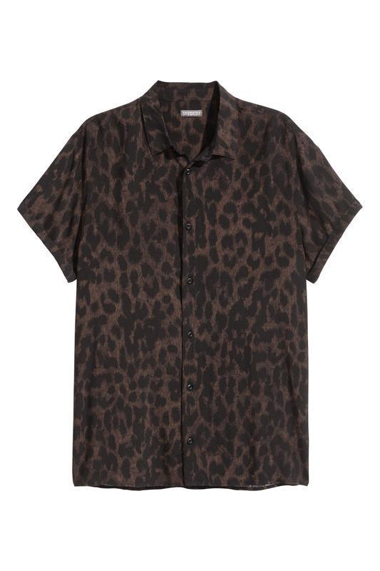 Леопардовая рубашка h&m ! - Фото 2