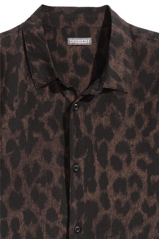 Леопардовая рубашка h&m ! - Фото 3