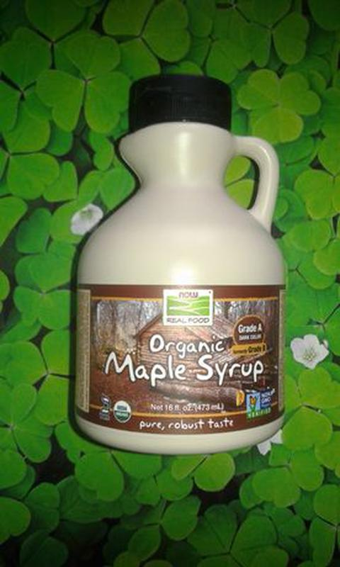 Органический кленовый сироп, Now Foods (473 мл) США - Америка