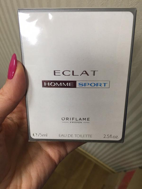 Туалетная вода eclat homme sport ,75мл